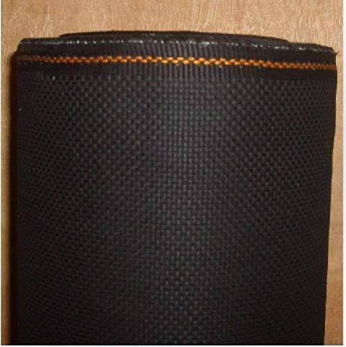 Tela Aida de punto de cruz de alta calidad 100% algodón 14CT, negro, 150x200 cm