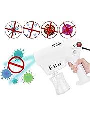 Jnzr Desinfectante eléctrica nebulizador, 260 ml de Mano de atomización Nano rociador de la Niebla Desinfección máquina de la Niebla para el Coche, Hospitales, Oficina y Hogar