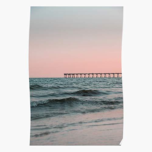 Pop Ocean Beautiful Hats Beach Wall Lululemon Cool Culture Home Decor Wall...