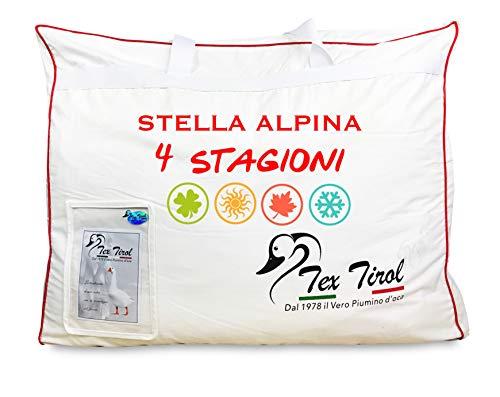 Piumino Oca Tex Tirol  Stella Alpina 4 Stagioni 100% Piumino Oca Tutte Le Misure - Matrimoniale 2 PIAZZE CM. 250X200