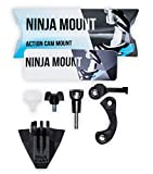 Ninja Mount RampAdapter Set Compatible con Fox Rampage MVRS Casco & GoPro