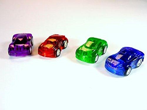 12 Sportwagen mit Rückzug Autos zum aufziehen Aufziehauto Mitgebsel Kindergeburtstag