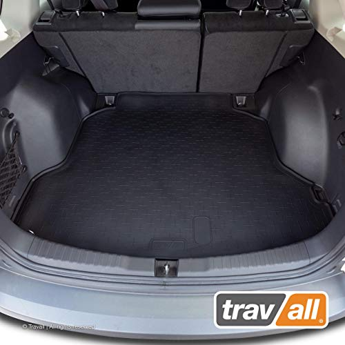 Travall Liner Compatible with Honda CR-V (2012-2017) TBM1096 - All-Weather Black Rubber Trunk Mat Liner