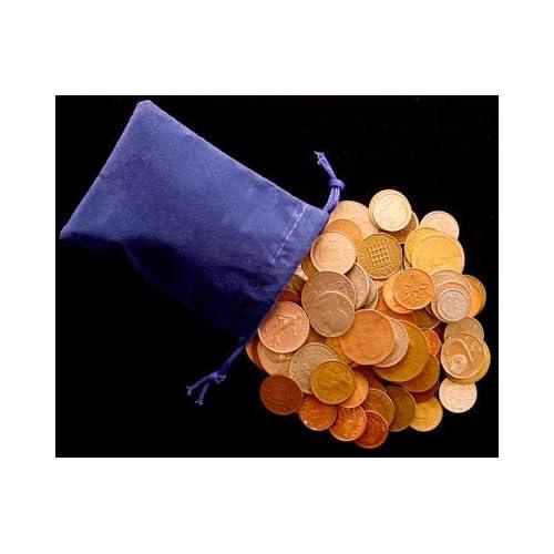 Moenich World Coin Grab Bag 50 Coin Assortment by Moenich Coins /& Collectibles