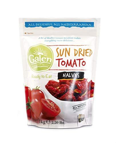 Galen - sonnengetrocknete Tomate - getrocknete Tomaten - Sommertomaten - verzehrfertig - Packung mit 1 kg Reißverschluss - Produkt der Türkei