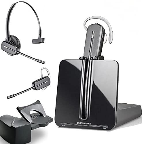 Plantronics CS540 Wireless Headset with Savi HL10 Straight Plug Lifter