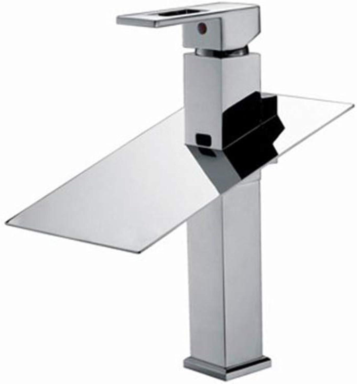 ZTMN Becken Wasserhahn Hoch Wasserhahn Waschbecken Mischbatterie Wasserfall Chrom Vanity Vessel Sinks Mischbatterien Wasserhhne