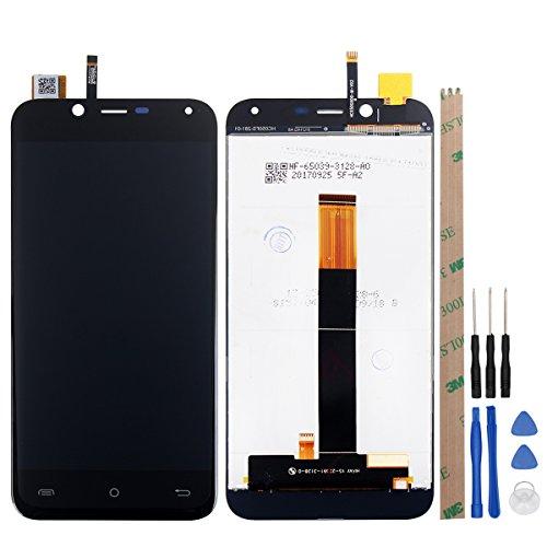Ocolor für Cubot Magic LCD-Display + Touchscreen-Digitizer Ersatz für kaputten Bildschirm (schwarz)
