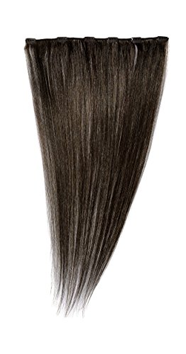 Love Hair Extensions Clip-In Haarverlängerung 100 % Echthaar, 3 Medium Brown