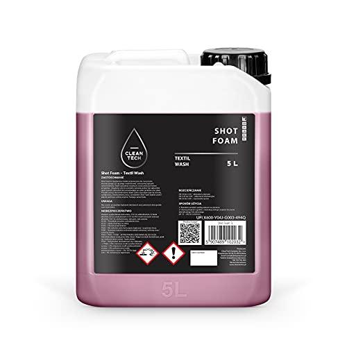 CleanTech – Shot Foam – Nettoyant pour tissus, tapis et sièges de voiture