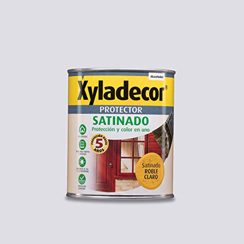 Xyladecor Protector para madera Satinado Roble Claro 750 ml