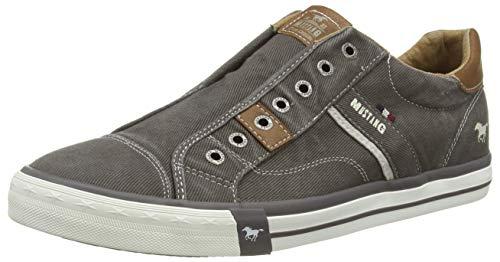 MUSTANG Herren 4072-403-20 Slip On Sneaker, Dunkelgrau, 43 EU