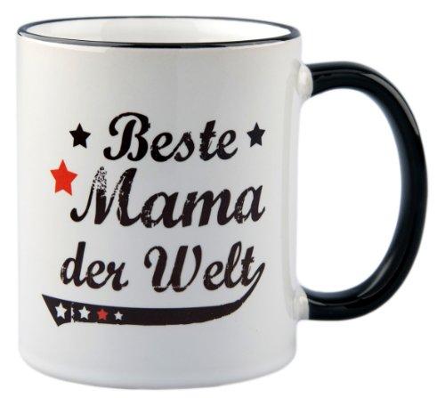 geschenke-fabrik - Tasse mit Spruch/Geschenk Beste Mama der Welt - Vintage Style - zum Muttertag Geschenk - Mama -Mutter - zum Geburtstag - zu Weihnachten