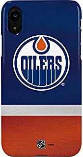 Skinit Lite Phone Case for iPhone XR - Officially Licensed NHL Edmonton Oilers Jersey Design