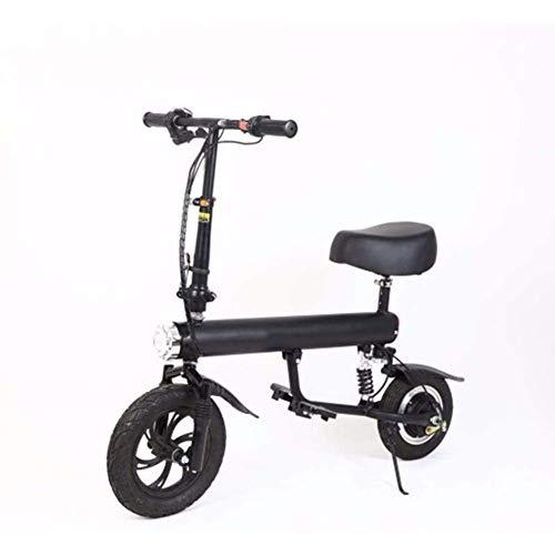 Mini Moto Scooter Eléctrico Plegable Pequeña Batería De Litio Coche Eléctrico con...