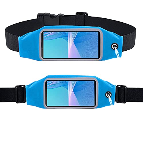 Xperia 10 III - Pretina para ejercicio, correr, correr, ciclismo, gimnasio, deporte y mucho más, correa para teléfono móvil para Sony Xperia 10 III, Blue (Azul) - KP-XPERIA-10-III-WB