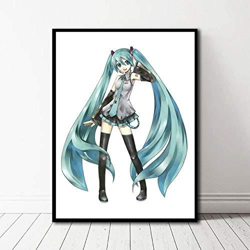 Geiqianjiumai Anime Future muurverf, foto, decoratie van het huis, olieverfschilderij, kunst zonder lijst, schilderij