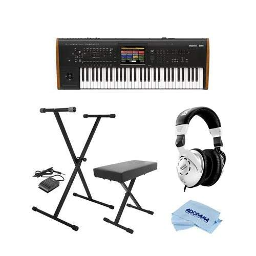 Great Price! Korg Kronos 61 Key Music Workstation with SGX-2 Engine, Kronos System Version 3.0 - Bun...