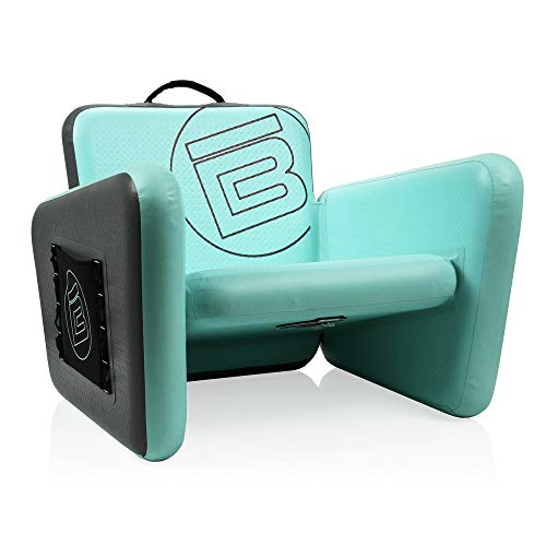 Aero Inflatable Beach Chair | Folding Air Chair for Adults, Ultra Lightweight, 225 LB Capacity, Standard