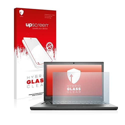 upscreen Hybrid Glass Panzerglas Schutzfolie kompatibel mit Lenovo ThinkPad T440s Non-Touch 9H Panzerglas-Folie