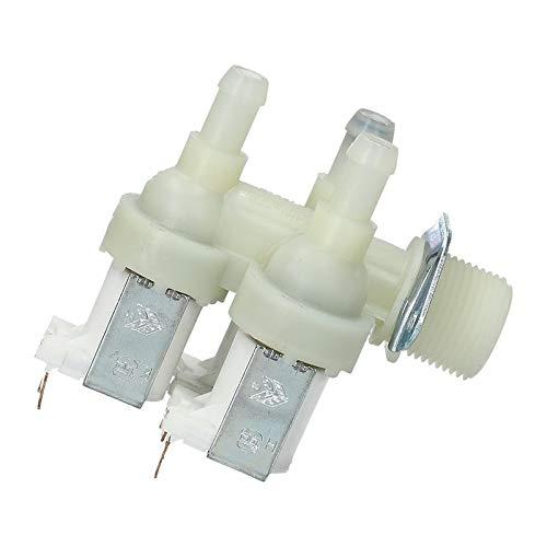 Magnetventil Wasserventil Aquastop Weiß Waschmaschine für Miele 1678012 1678013