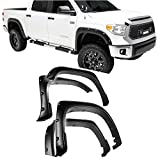 Pocket Rivets Style Fender Flares Compatible with Toyota Tundra 2014-2021 (4-Piece Kit)