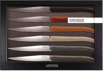 TB 448770 Laguiole Evolution messenset, meerkleurig, 6 stuks