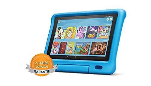 Fire HD 10 Kids -Tablet | Ab dem Vorschulalter | 10,1 Zoll, 1080p Full HD-Display, 32 GB, blaue kindgerechte Hülle (vorherige Generation – 9.)