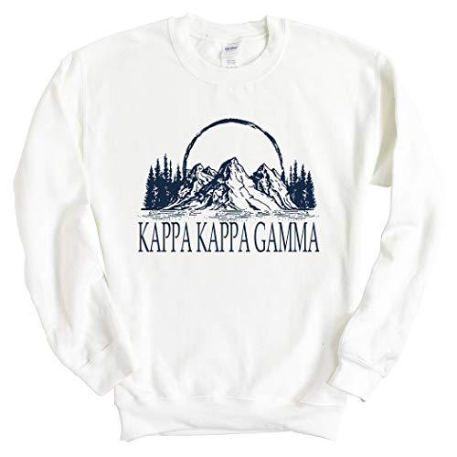 Kappa Kappa Gamma Sweatshirt | Kappa (KKG) Epic Mountains Crewneck Sweatshirt | Kappa Kappa Gamma Sorority Gift Idea
