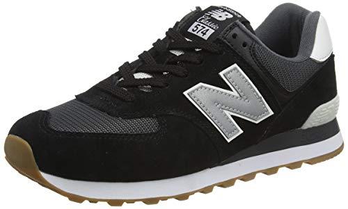 New Balance 574v2, Zapatillas para Hombre, Negro (Black/Grey SPT), 42 EU