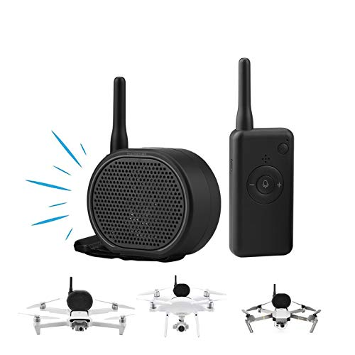 O\'woda Universale Drone Altoparlante Portatile Megafono in Tempo Reale Amplificatore Mini Microfono Senza interferenze a Lunga Distanza per DJI Mavic Mini/Mini 2/Pro/2/Air/Phantom/Xiaomi/FIMI X8/A3