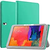 N NEWTOP Coque compatible avec Samsung Galaxy TAB PRO 10.1 T520 T525, coque magnétique en simili...