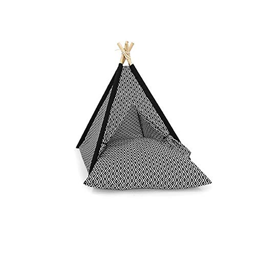 YDHWY Gioco for Animali Domestici Estate Struttura for arrampicarsi, Piccolo Solido Tenda Legno smontabile e Lavabile, Pet Tent Casa
