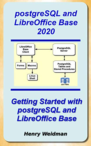 postgreSQL and LibreOffice Base 2020 (English Edition)