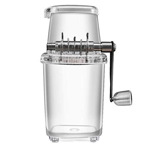 Ice Crusher, handmatige Ice Crusher, ijs Crusher Machine Manueel PP PS roestvrij staal 6.30x4.72x9.37 in voor Home Bar draagbare handheld Manual Ice Crusher