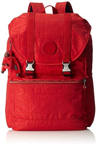 Kipling Experience BP Rucksack, 25 Liter, Red Metal Mix