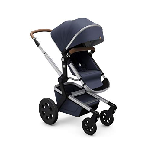 Joolz Day3 Complete Baby Stroller Set, Includes Premium Stroller and Bassinet, Birth to 50 lbs, Classic Blue