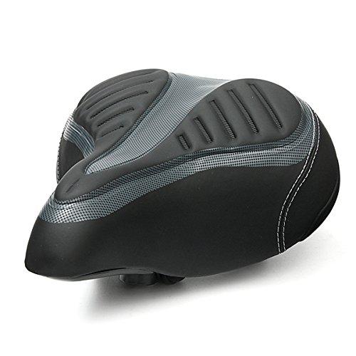 MXBIN Wide Big Bum Bike Bicicleta Ciclismo Gel Cruiser Extra Comfort Soft...
