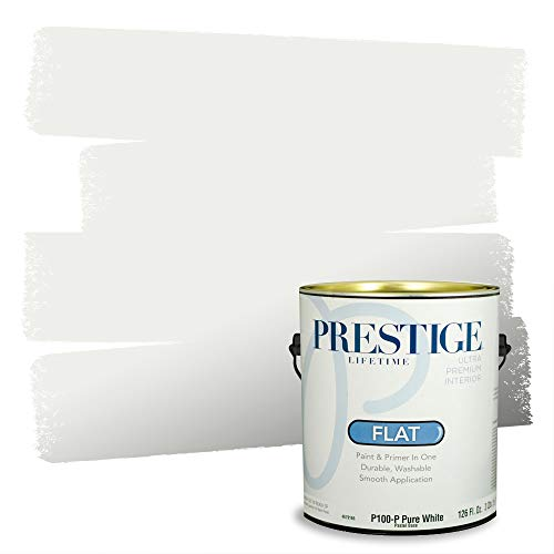 Prestige Interior Paint and Primer in One, Icy Pond, Flat, 1 Gallon