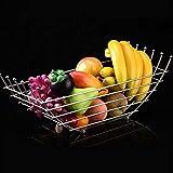 O&YQ Cuencos de Almacenamiento para el Hogar Canasta de Tres Niveles Canasta de Pastel de Frutas Y Canasta de Pan Canasta de Vida Creativa Canasta de Frutas Y Verduras