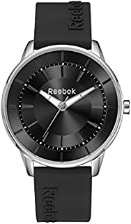 Reebok Women's Black Dial Silicone Band Watch - Rf-Kal-L2-S1Ib-B1, Analog Display, Quartz Movement