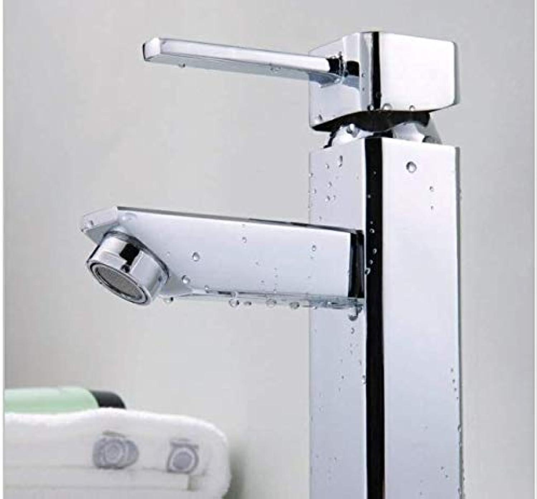 Bathroom Bathroom Cabinet Basin Faucet washbasin Faucet Basin Faucet Above Counter Basin hot and Cold Water Octagonal Faucet