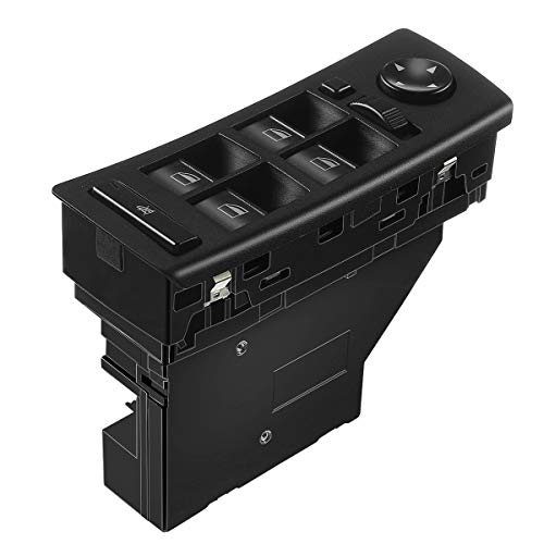 A-Premium Power Window Switch Replacement for BMW E53 X5 2001-2006 with Auto Dimming Mirrors Front Left