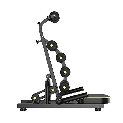 AHELT-J Tabla Inversión, Yoga, Mesa de Terapia de inversión Plegable Máquina de Estiramiento de Espalda Equipo de Estiramiento de Seguridad invertido al revés Altura Ajustable.