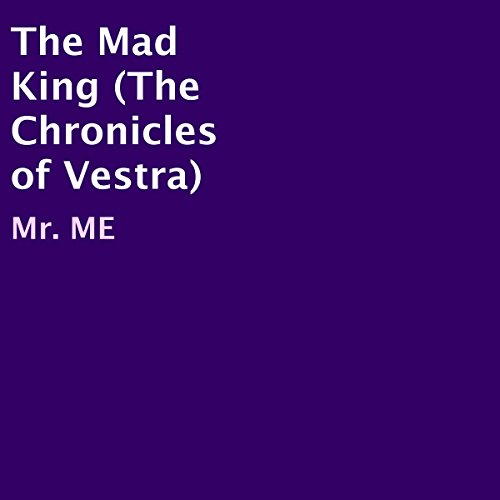The Mad King audiobook cover art