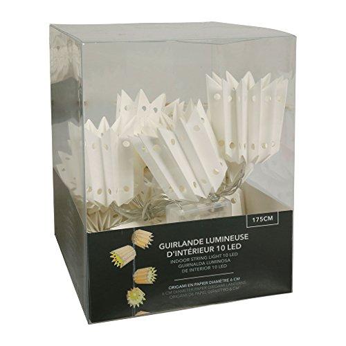 LUM & CO lichtketting met 10 witte lampjes