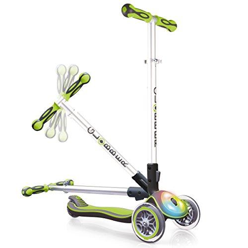 Globber My Free Fold Up F Flash Light, 3-Inject Scooter Wheels Bi,...