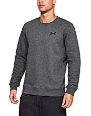 Under Armour Rival Solid Fitted Crew Sudadera Hombre