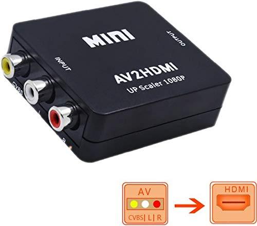 AV2HDMI - Zwart