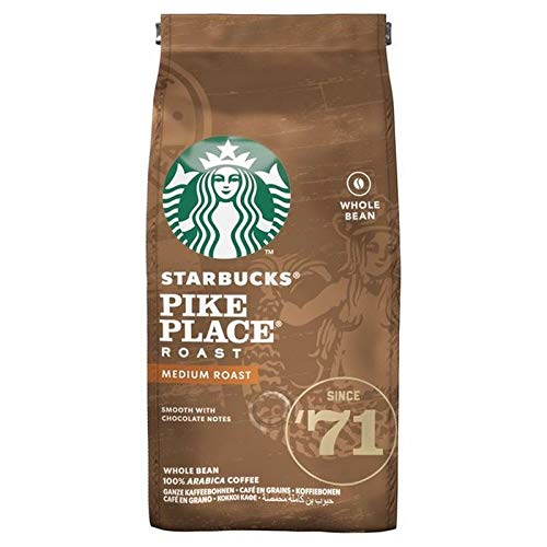 STARBUCKS Pike Place, Medium Roast, Coffee Beans 200g